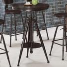 吧檯桌 MK-510-1 威廉2尺升降圓桌【大眾家居舘】