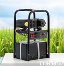 充電式抽水機 充電便攜手提式菜戶外家農用大功率小型12V電動自動吸水機抽水泵 CY 自由角落