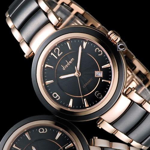 Diadem 黛亞登 夏日限定時尚陶瓷腕錶 8D1407-511RG-D