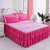 鋪棉床罩組舖棉加厚床裙180x200公分席夢思床墊保護床罩 單件床套加棉180公分150公分床保潔墊