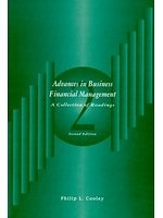 二手書博民逛書店《Advances in business financial
