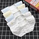 寶寶360度可旋轉 圍嘴純棉防水口水巾新生嬰兒花朵八角圍兜春秋冬