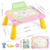 兒童畫畫板桌磁性寫字板寶寶玩具1-3歲2幼兒igo