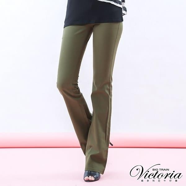 Victoria 基本斜紋靴型褲-女