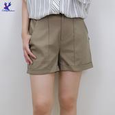 【春夏新品】American Bluedeer - 兩摺剪裁短褲 二色 春夏新款