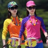 運動衫短袖 夏季薄款戶外運動女式長袖速干衣 短袖速干T恤衫跑步徒步防曬透氣 寶貝計畫