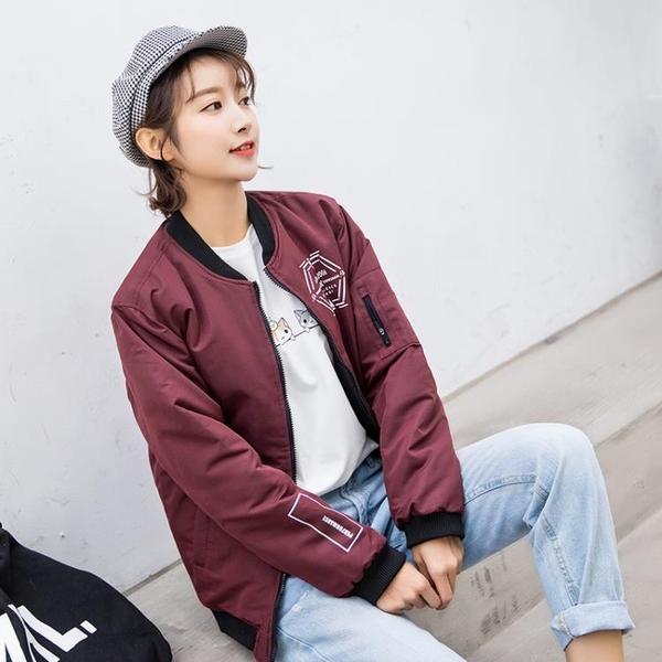 POTRSS秋冬新品棒球服修身上衣飛行服雙面夾克外套可穿外套男款女款情侶棒球外套推薦