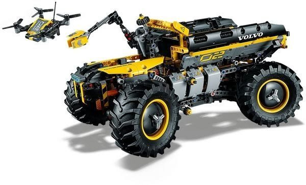 【LEGO樂高】 TECHNIC Volvo 概念輪式裝載機 ZEUX #42081