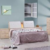 床架【時尚屋】[UZ6]立德5尺雙人床UZ6-57-1+57-2二色可選/不含床頭櫃-床墊/免運費/免組裝/臥室系列