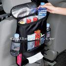 【超取199免運】新款汽車用多功能椅背置物袋 車用保冷袋 椅背袋 置物袋
