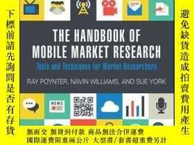 二手書博民逛書店The罕見Handbook of Mobile Market Research: Tools and Techni