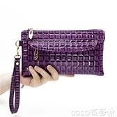 手拿包 夏2021新款女包手拿包日韓女式手機包時尚小包包百搭休閒女零錢包 coco