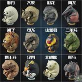 動物模型 圓滾滾動物恐龍蛋仿真動物模型大象獅子玩具T