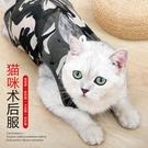 寵物公貓母貓咪小型犬狗絕育服貓咪手術服防舔術后衣服斷奶服舒適(L)