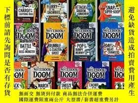 二手書博民逛書店the罕見notebook of doom 13冊 毀滅筆記 大