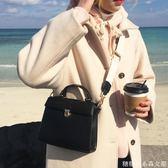 寬帶斜背包新款秋季單肩包韓版百搭女生手提包