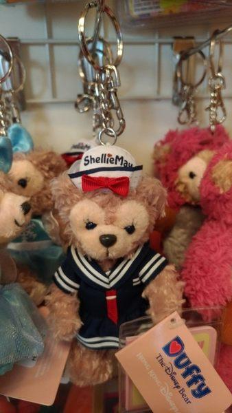 【香港迪士尼代購】雪莉玫【水手服鑰匙圈】附樂園指南+袋子 Duffy Shelliemay