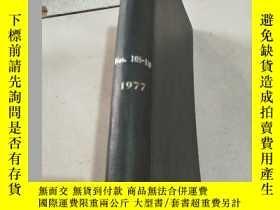 二手書博民逛書店NITROGEN罕見Nos 105-110 1977 氮Y212