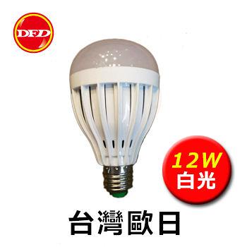 台灣歐日 LED BALL STEEP 12W 燈泡 E27 白光 220V 110V 30000Hr 公司貨