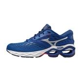 Mizuno Wave Creation 21 [J1GC200101] 男 慢跑鞋 支撐 平穩 柔軟 運動 休閒 藍