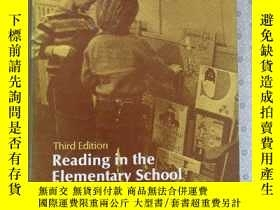 二手書博民逛書店Reading罕見in the Elementary School George D. Spache Third