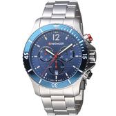 瑞士WENGER Seaforce海勢系列 征服怒海潛水腕錶 01.0643.111