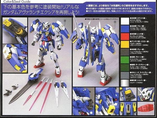 鋼彈模型 1/100 Avalanche EXIA 雪崩型能天使 鋼彈00 外傳00V TOYeGO 玩具e哥
