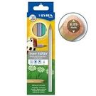 【德國 LYRA】3721062  三角金屬彩色鉛筆 6色/盒