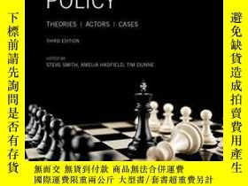 二手書博民逛書店Foreign罕見Policy: Theories, Actor
