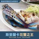 【屏聚美食】斯里蘭卡公花蟹(400g/隻)