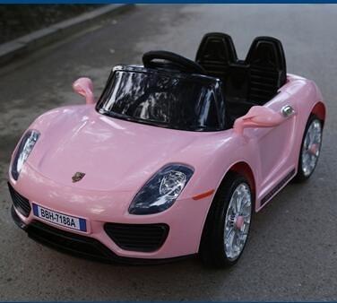 新款雙驅兒童電動車四輪搖擺遙控汽車可坐寶寶車小孩玩具車jy【快速出貨八折下殺】