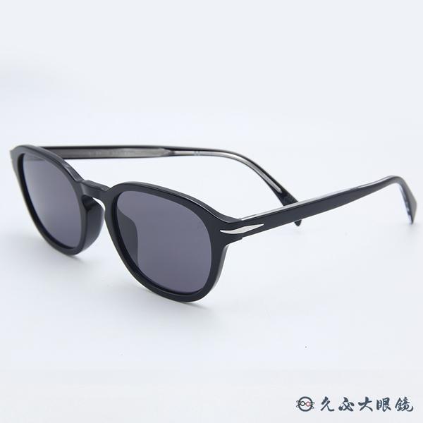 DB EYEWEAR 貝克漢設計品牌 DB 1011FS (黑) 偏光太陽眼鏡 久必大眼鏡