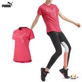 Puma Cat 女 桃紅色 短袖 上衣 經典系列 運動 健身 跑步 上衣 T恤 運動服飾 51831103