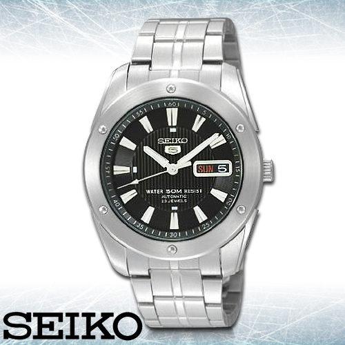 SEIKO 精工手錶專賣店 SNZF35J1 男錶 機械錶 不鏽鋼錶帶 日製 礦物防刮玻璃 防水50米 星期日期 夜光