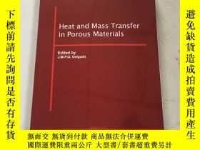 二手書博民逛書店heat罕見and mass transfer in porous materials多孔材料中的傳熱傳質Y2