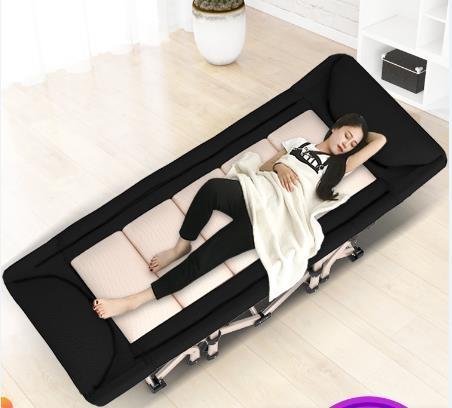 摺疊床 折疊床單人床 家用午睡躺椅午休行軍床辦公室簡易便攜午睡單人床 夢藝家
