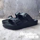 AIRWALK  雙扣 環類 勃肯 黑色 情侶鞋 拖鞋 橡膠 男女  (布魯克林) 2018/7月 A755220-120