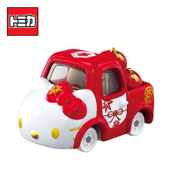 【日本正版】Dream TOMICA SP 凱蒂貓 和服系列 紅色款 和(結) Hello Kitty 多美小汽車 - 166696