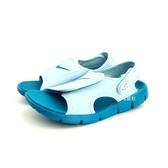 中童NIKE SUNRAY ADJUST 4 (GS/PS) 輕量運動涼鞋 《7+1童鞋》 E890 水色