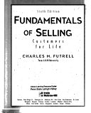 二手書博民逛書店《Fundamentals of Selling: Customers for Life》 R2Y ISBN:0071157085