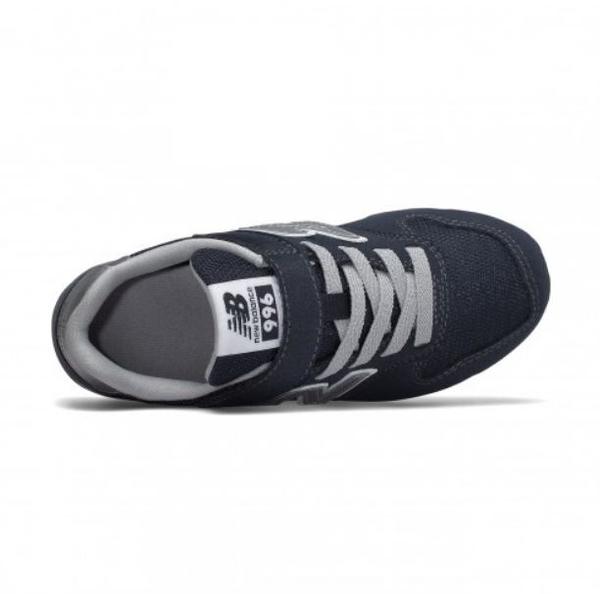 New Balance 兒童 丈青休閒運動鞋 -NO.YV996CNV