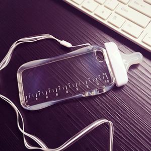 奶瓶造型 iPhone6S Plus 創意 奶嘴 手機殼 掛繩 掛脖 矽膠軟殼套 手機套 i6S 『無名』 K01114