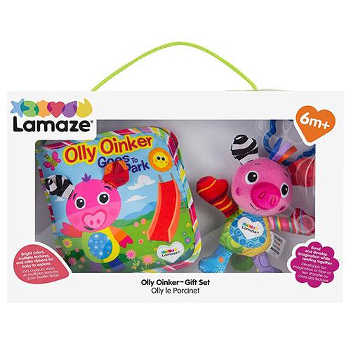 Lamaze拉梅茲嬰幼兒玩具 兒童布書套組_LC27874