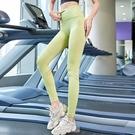 健身瑜伽褲女高腰提臀彈力緊身收腹運動跑步服速干打底外穿夏薄款 快速出貨