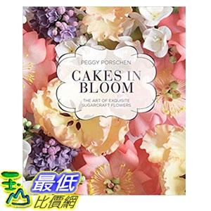 2018 amazon 亞馬遜暢銷書 Cakes in Bloom: The art of exquisite sugarcraft flowers