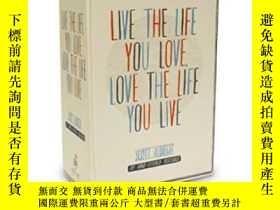 二手書博民逛書店Live罕見The Life You Love Postcard BoxY256260 Scott Albre