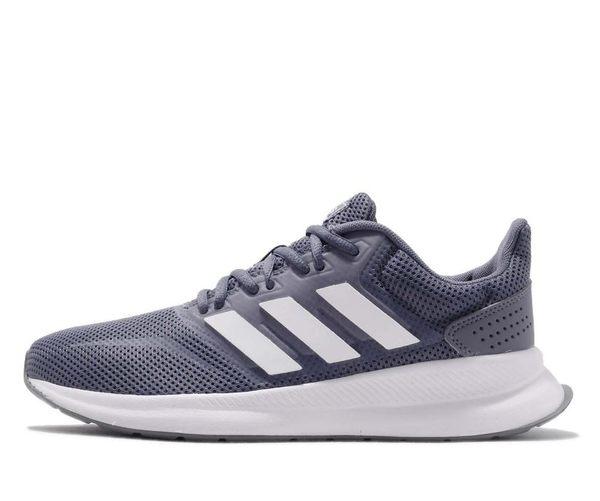 ADIDAS系列-女款 RUNFALCON 灰色 慢跑鞋-NO.F36217 | 慢跑鞋 |