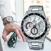 EDIFICE 個性魅力三眼腕錶 EFV-570D-7A EFV-570D-7AVUDF 熱賣中!