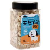 【寵物王國】OzBone奧力棒-犬用凍乾肉磚零食(鱈魚)90g