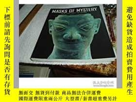二手書博民逛書店神祕的面具Masks罕見of Mystery: Ancient